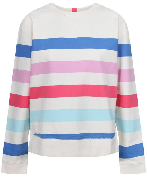 Women's Joules Monique Sweatshirt - Multi Stripe