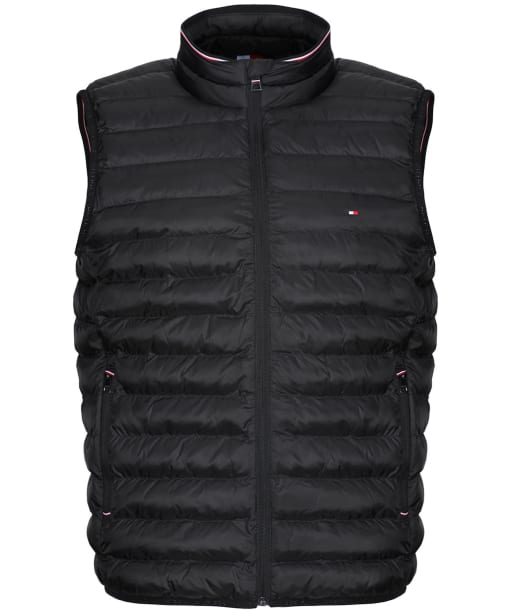 Men's Tommy Hilfiger Packable Circular Vest - Black