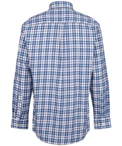 Men's Schoffel Healey Tailored Shirt - Sea Blue