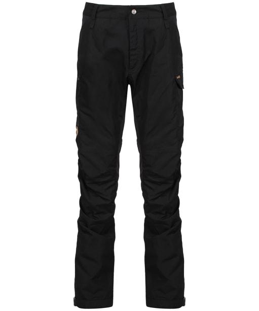 Men's Fjallraven Kaipak Trousers - Black