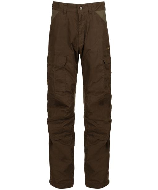 Men's Fjallraven Drev Trousers - Dark Olive