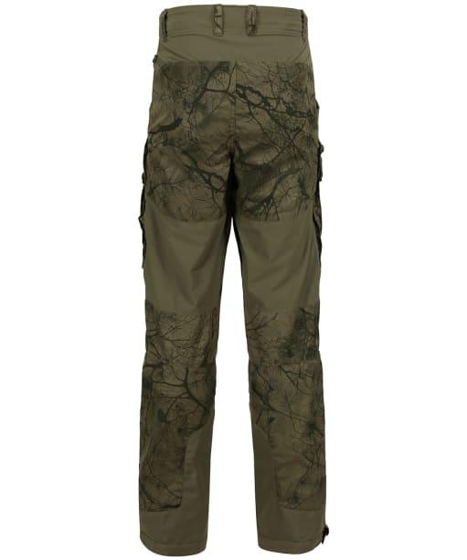 Men's Fjallraven Lappland Hybrid Trousers - Camo Green / Laurel Green