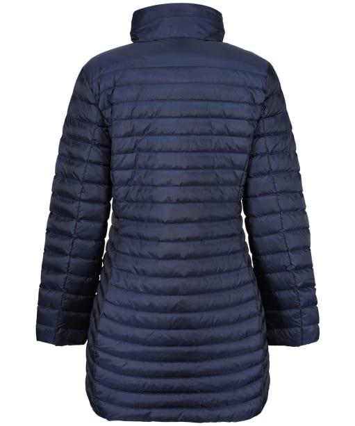 Women's GANT Light Down Coat - Evening Blue