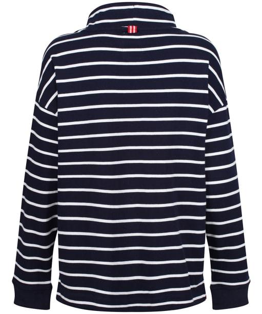Women's Joules Harlton Hoodie - Navy / Cream Stripe