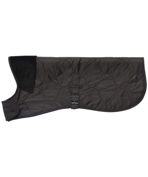 Barbour International Onion Quilted Dog Coat - Black