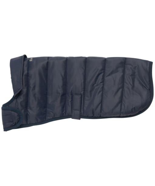 Barbour Baffle Quilt Dog Coat - Navy