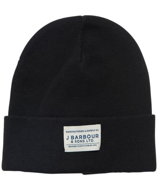 Men's Barbour Nautic Beanie - Black