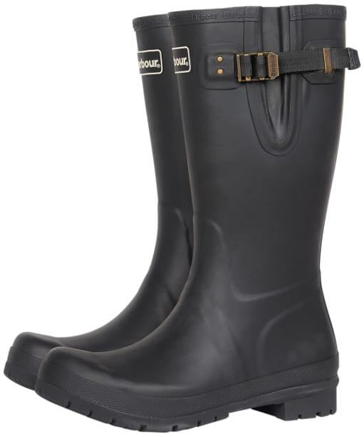 Men's Barbour Cirrus Wellington Boots - Black