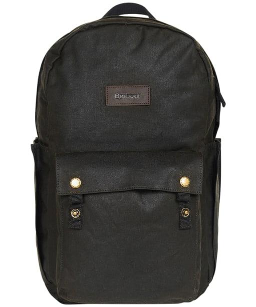 Barbour Explorer Wax Backpack - Olive