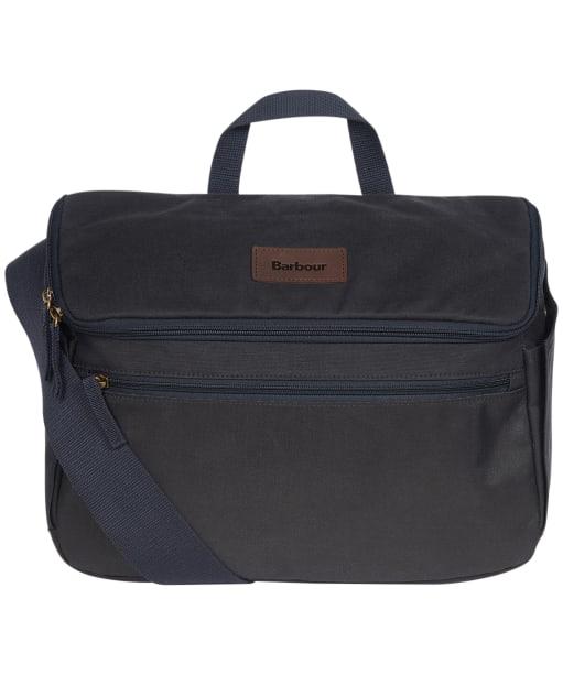 Barbour Explorer Wax Cross Body Bag - Navy