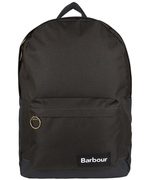 Barbour Highfield Canvas Backpack - Navy / Olive