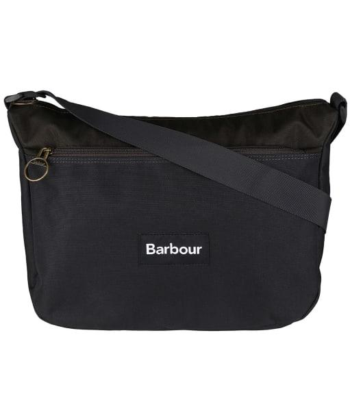 Barbour Highfield Canvas Cross Body Bag - Navy