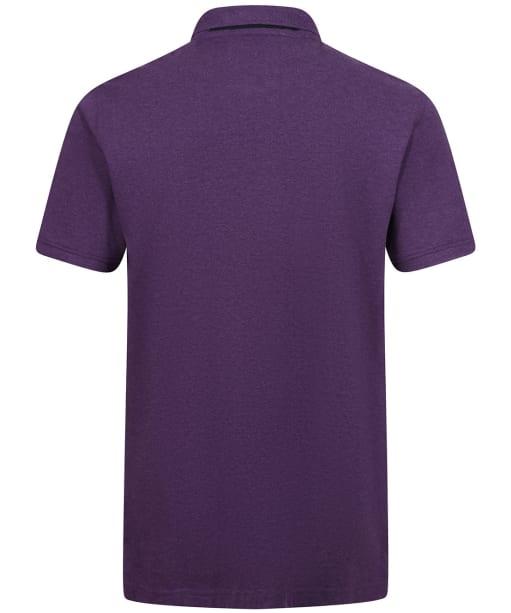 Men's Crew Clothing Classic Pique Polo Shirt - Purple