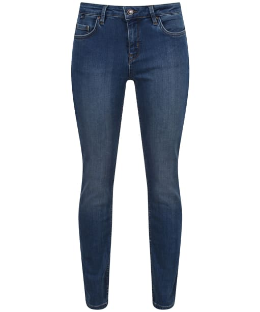 Women's Crew Clothing Skinny Jeans - Worn Indigo