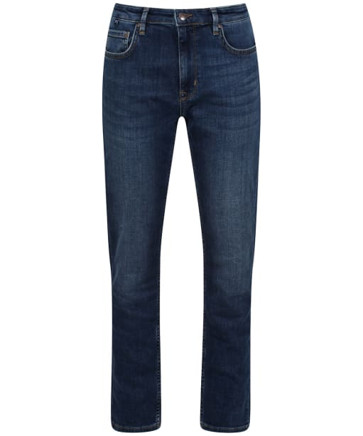 Women's Crew Clothing Straight Jeans - Vintage Mid Wash
