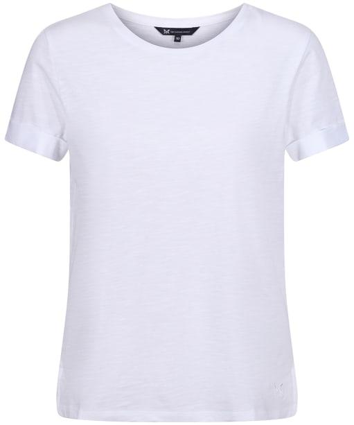 Women's Crew Clothing Perfect Slub T-Shirt - White
