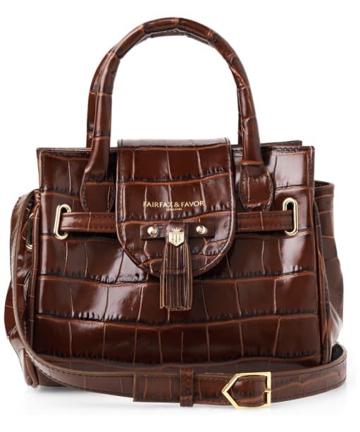 Women's Fairfax and Favor Mini Windsor Handbag - Conker Brown