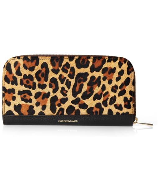 Women's Fairfax and Favor The Salisbury Haircalf Purse - Jaguar