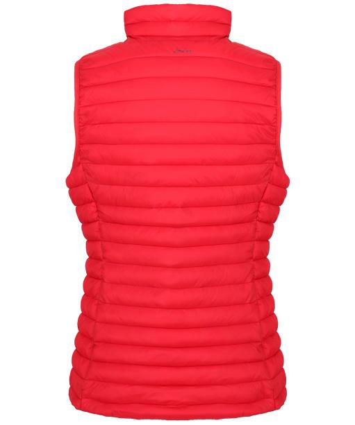 Women's Joules Snug Packable Gilet - Red