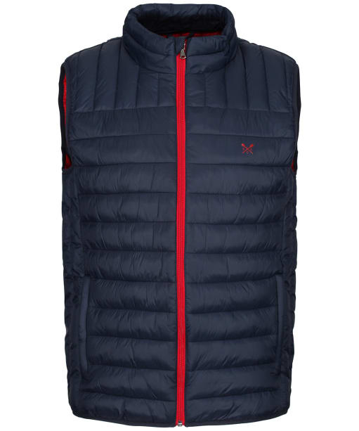 Men's Crew Clothing Lowther Quilted Gilet - Dark Navy