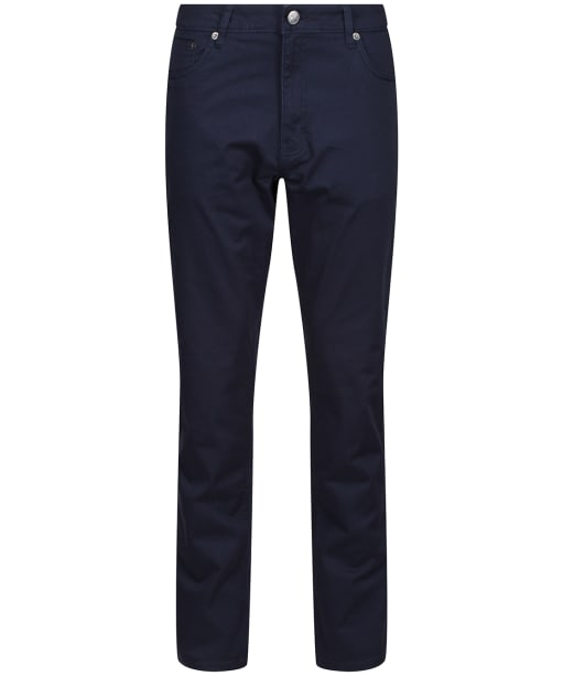 Men's Crew Clothing Spencer Slim Fit 5 Pocket Trousers - Dark Navy