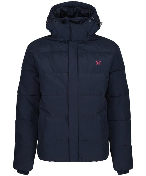 Men's Crew Clothing Chancellor Quilted Jacket - Dark Navy