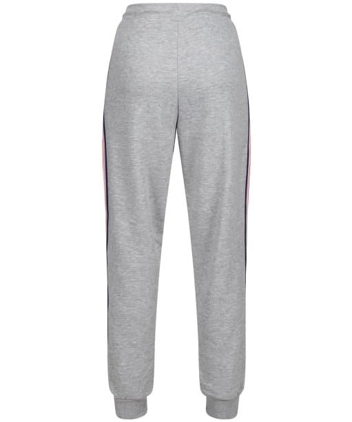 Women's Crew Clothing Side Stripe Joggers - Grey / Pink