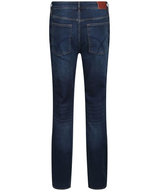 Men's Crew Clothing Parker Straight Fit Jeans - Vintage Blue