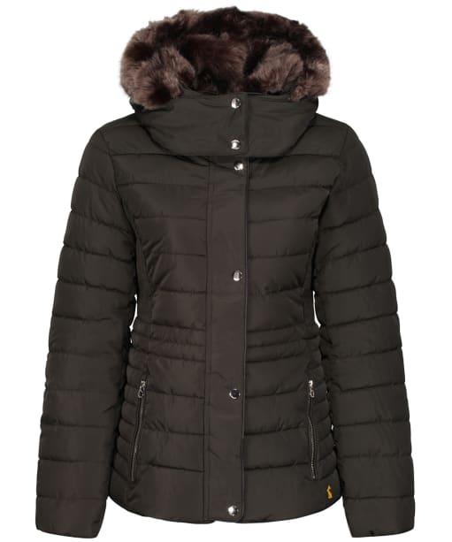Women's Joules Gosway Coat - Heritage Green