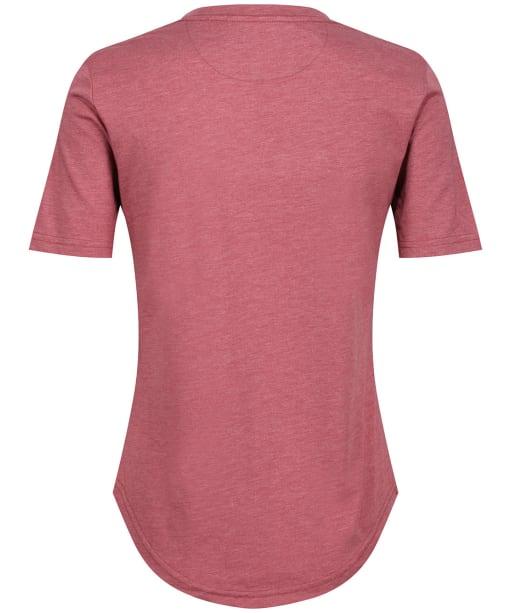Women's Tentree TreeBlend V-Neck T-Shirt - Apple Butter Red