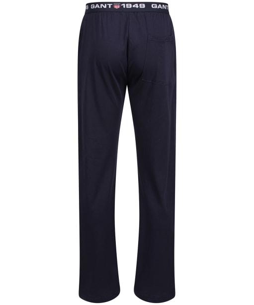 Men's GANT Retro Shield Jersey Pants - Evening Blue