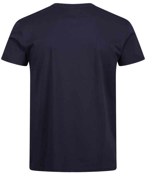 Men's GANT Retro Shield Crew Neck T-Shirt - Evening Blue
