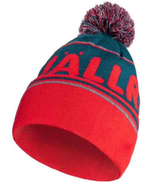 Fjallraven Pom Hat - Storm / True Red