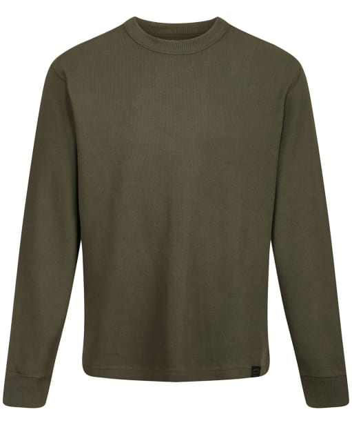 Men's Filson Waffle Knit Thermal Crew Sweater - Mossy Rock