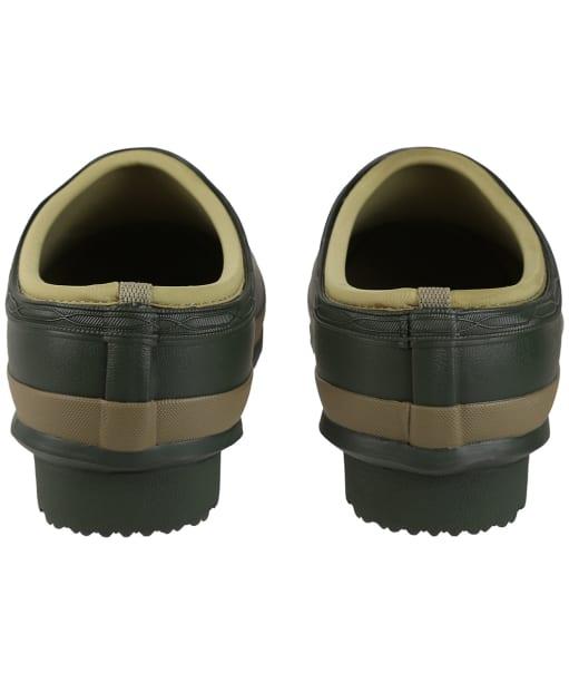 Men's Hunter Gardener Neo Lined Clogs - Dark Olive / Clay