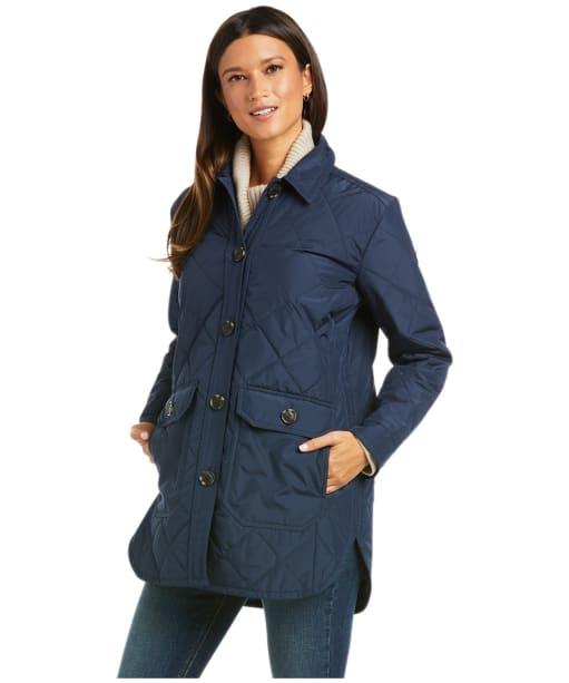 Women's Ariat Belmont Shirt Jacket - Navy