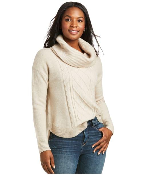 Women's Ariat Montara Sweater  - Oatmeal