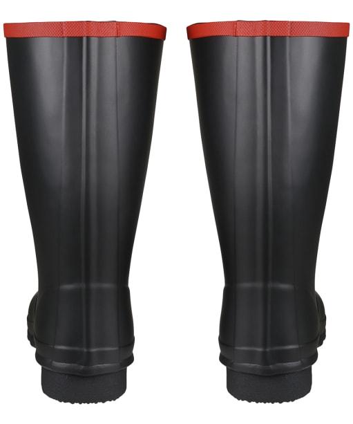 Hunter Argyll Short Knee Wellington Boots - Black