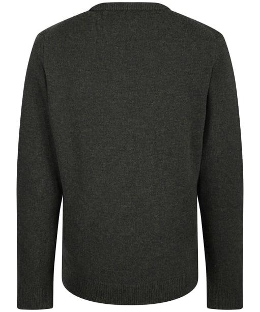 Men's Laksen Johnston V-Neck Sweater - Olive