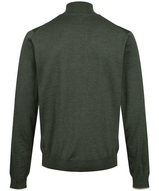 Men's Laksen Norfolk ¼ Zip Sweater - Forest