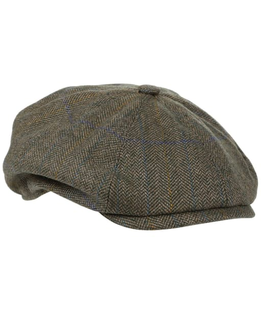 Men's Laksen Rutland Bakerboy Cap - Tweed
