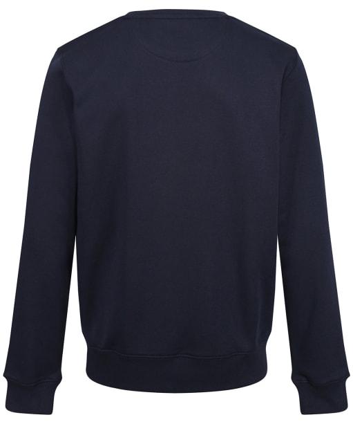 Men's GANT Crew Neck Sweater - Evening Blue
