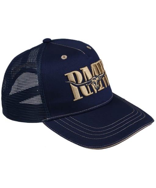 Men's R.M. Williams Cremorne Cap - Navy / Brindle