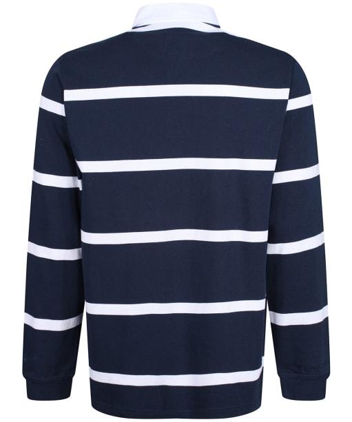 Men's R.M. Williams Tweedale Rugby Shirt - Navy / White
