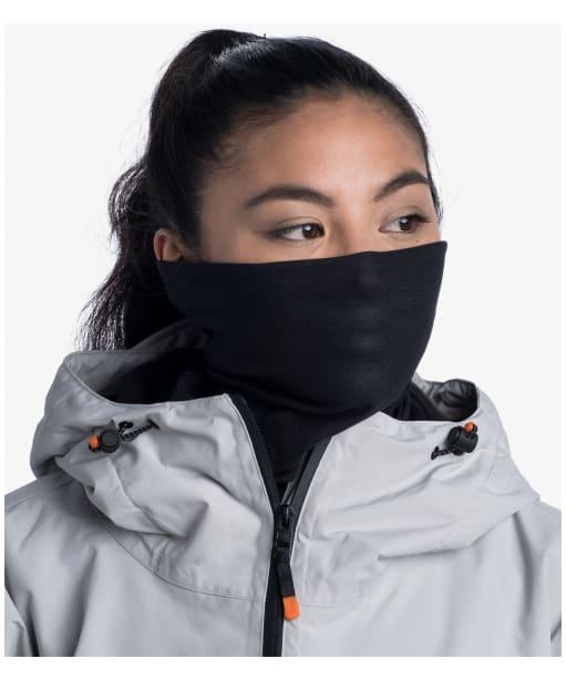 Buff Polar Solid Necktube - Black