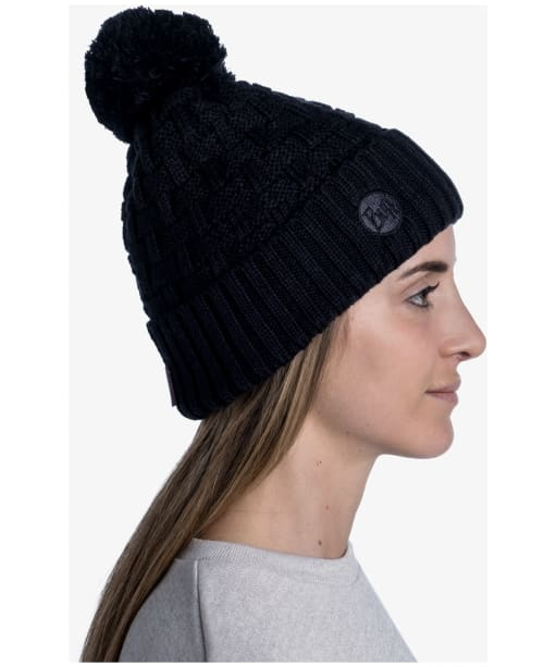Buff Ted Airon Bobble Hat - Black