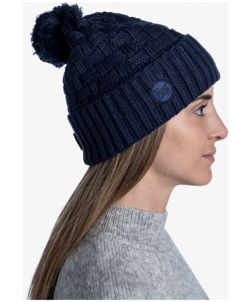 Buff Ted Airon Bobble Hat - Night Blue