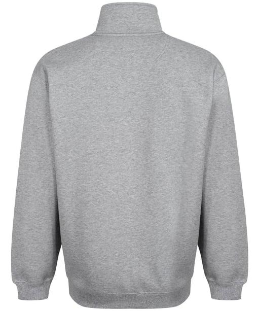 R.M. Williams Mulyungarie Half Zip Fleece - Grey Marl