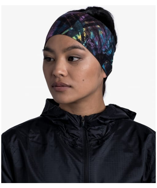 Women's Buff CoolNet UV® Wide Headband - Multi