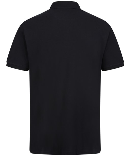 Men's R.M. Williams Rod Polo Shirt - Black